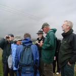 Chris reads the history of Blewburton Hill fort.