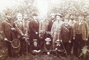 """Reading Nats"" members in the 1880s"